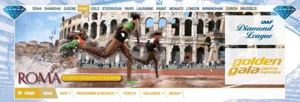 Roma Diamond League