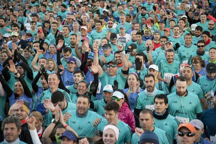 Salida de la Media Maraton de Buenos Aires 2018